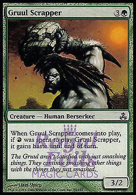 **4x FOIL Gruul Scrapper* GPT MTG Guildpact Common MINT green red