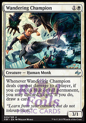 **4x FOIL Wandering Champion* FRF MTG Fate Reforged Uncommon MINT white