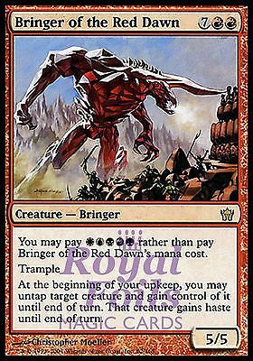 **1x FOIL Bringer of the Red Dawn** 5DN MTG 5th Fifth Dawn Rare MINT