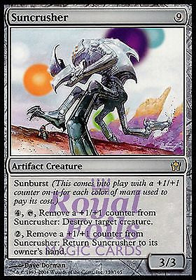 **1x FOIL Suncrusher** 5DN MTG 5th Fifth Dawn Rare MINT artifact