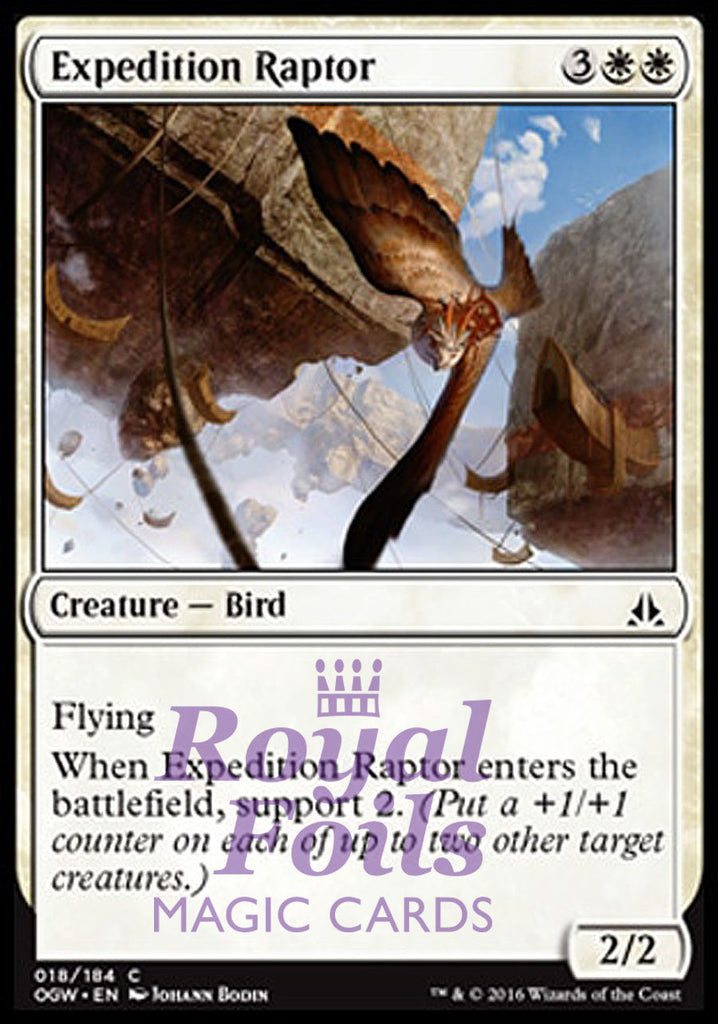 **4x FOIL Expedition Raptor OGW MTG Oath of the Gatewatch Common MINT white