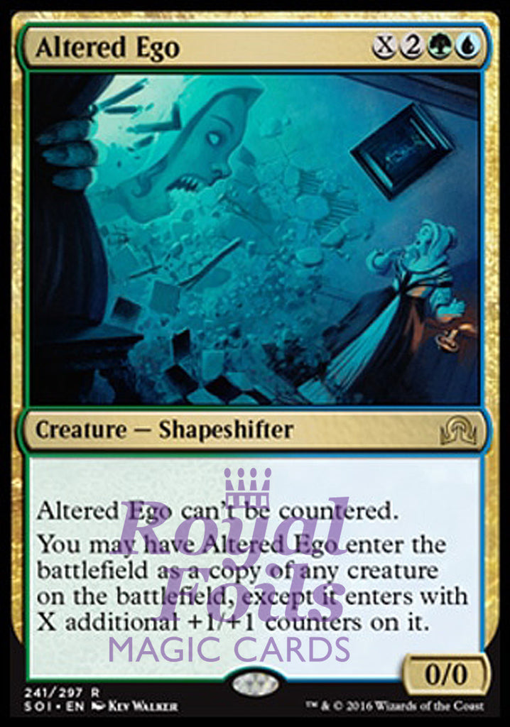 **1x FOIL Altered Ego** SOI MTG Shadows Over Innistrad Rare MINT green blue