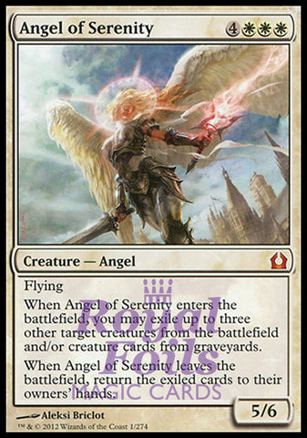 **1x FOIL Angel of Serenity** RTR MTG Return to Ravnica Mythic MINT white