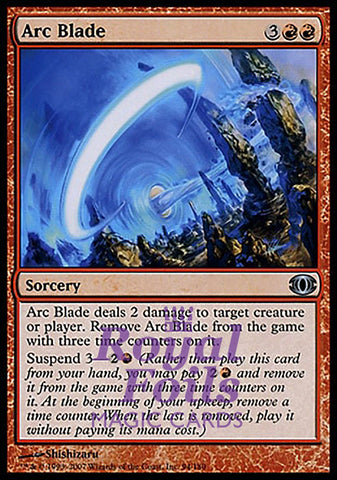 **1x FOIL Arc Blade** FUT MTG Future Sight Uncommon NM+ red