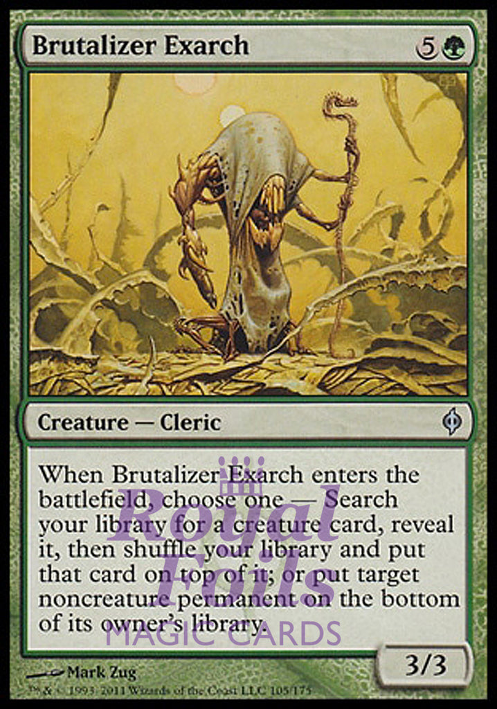 **1x FOIL Brutalizer Exarch** NPH MTG New Phyrexia Uncommon MINT green