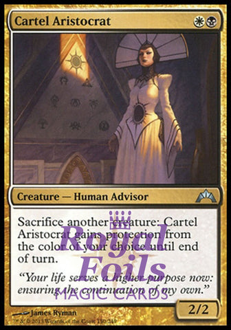 **1x FOIL Cartel Aristocrat** GTC MTG Gatecrash Uncommon MINT white black