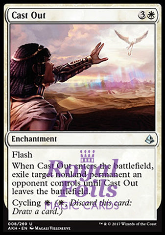 **1x FOIL Cast Out** AKH MTG Amonkhet Uncommon MINT white