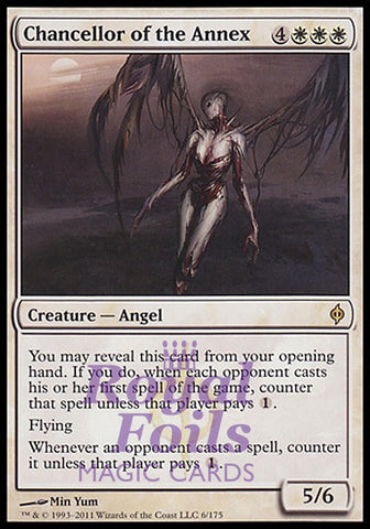 **1x FOIL Chancellor of the Annex** NPH MTG New Phyrexia Rare NM+ white