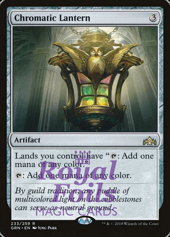 **1x FOIL Chromatic Lantern** GRN MTG Guilds of Ravnica Rare MINT artifact