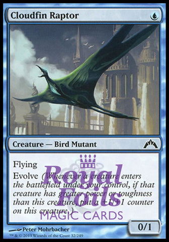 **1x FOIL Cloudfin Raptor** GTC MTG Gatecrash Common MINT blue