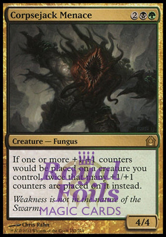 **1x FOIL Corpsejack Menace** RTR MTG Return to Ravnica Rare MINT black green