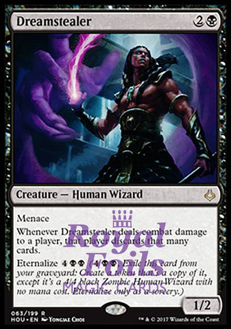 **1x FOIL Dreamstealer** HOU MTG Hour of Devastation Rare MINT black