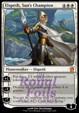 **1x FOIL Elspeth Sun's Champion** THS MTG Theros Mythic MINT white