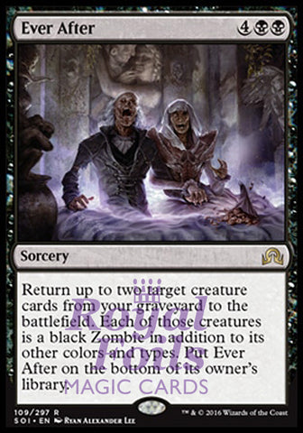 **1x FOIL Ever After** SOI MTG Shadows Over Innistrad Rare MINT black