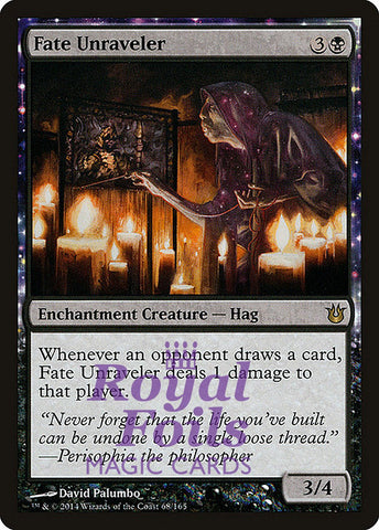 **1x FOIL Fate Unraveler** BNG MTG Born of the Gods Rare MINT black