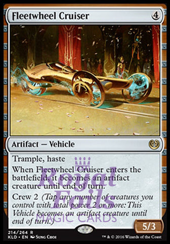 **1x FOIL Fleetwheel Cruiser** KLD MTG Kaladesh Rare MINT artifact