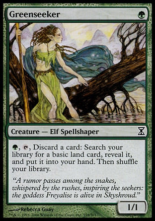 **1x FOIL Greenseeker** TSP MTG Time Spiral Common MINT green