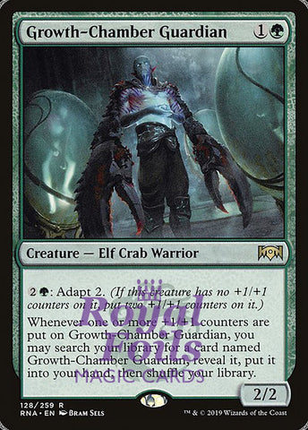 **1x FOIL Growth-Chamber Guardian** RNA MTG Ravnica Allegiance Rare MINT green