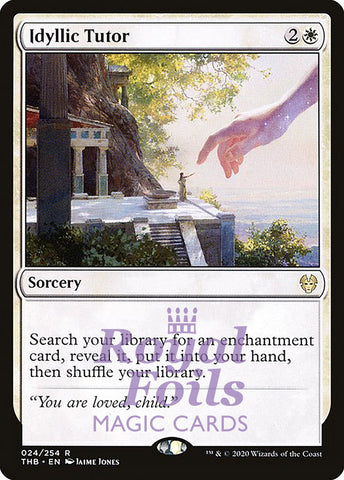 **1x FOIL Idyllic Tutor** THB MTG Theros Beyond Death Rare MINT white