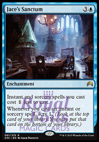 **1x FOIL Jace's Sanctum** ORI MTG Magic Origins Rare MINT blue