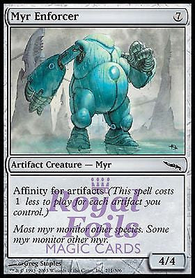 **1x FOIL Myr Enforcer** MDN MTG Mirrodin Common MINT artifact