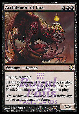 **2x FOIL Archdemon of Unx** ALA MTG Shards of Alara Rare MINT black