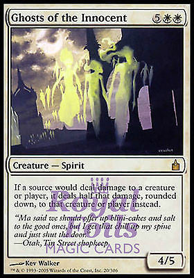 **1x FOIL Ghosts of the Innocent** RAV MTG Ravnica Rare MINT white