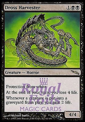 **1x FOIL Dross Harvester** MDN MTG Mirrodin Rare MINT black