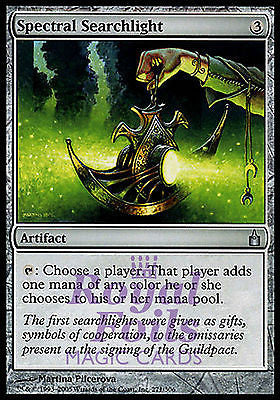 **2x FOIL Spectral Searchlight** RAV MTG Ravnica Uncommon MINT artifact