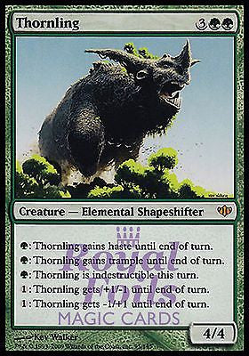 **1x FOIL Thornling** CON MTG Conflux Mythic MINT green