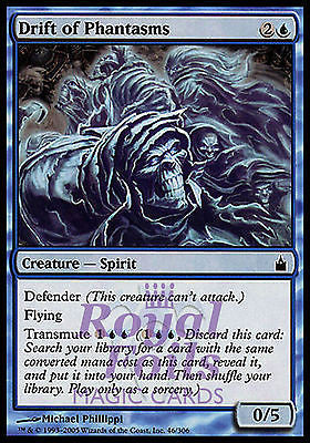 **1x FOIL Drift of Phantasms** RAV MTG Ravnica Common MINT blue