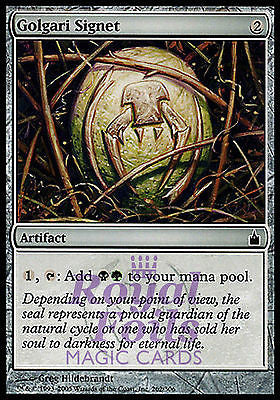 **1x FOIL Golgari Signet** RAV MTG Ravnica Common MINT black green artifact