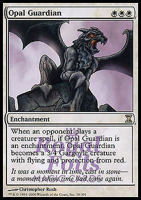 **1x FOIL Opal Guardian** TSP MTG Time Spiral Rare MINT white