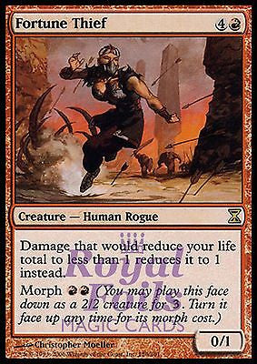 **1x FOIL Fortune Thief** TSP MTG Time Spiral Rare NM red