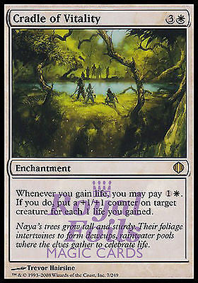 **1x FOIL Cradle of Vitality** ALA MTG Shards of Alara Rare MINT white