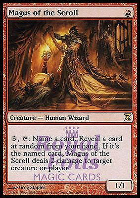 **1x FOIL Magus of the Scroll** TSP MTG Time Spiral Rare NM red