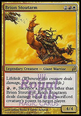 **1x FOIL Brion Stoutarm** LRW MTG Lorwyn Rare MINT red white