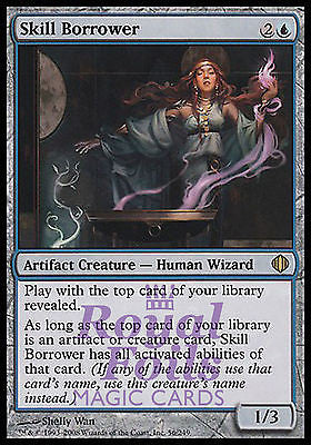 **1x FOIL Skill Borrower* ALA MTG Shards of Alara Rare MINT blue artifact