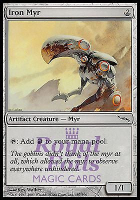 **1x FOIL Iron Myr** MDN MTG Mirrodin Common MINT artifact