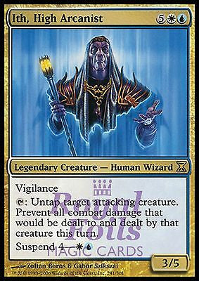 **1x FOIL Ith, High Arcanist TSP MTG Time Spiral Rare MINT white blue