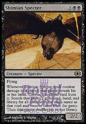 **1x FOIL Shimian Specter** FUT MTG Future Sight Rare MINT black