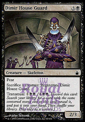 **1x FOIL Dimir House Guard** RAV MTG Ravnica Common MINT black