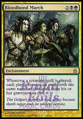 **1x FOIL Bloodbond March** RAV MTG Ravnica Rare MINT black green