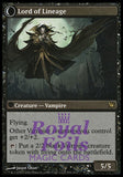 **1x FOIL Bloodline Keeper // Lord of Lineage** ISD MTG Innistrad Rare VF black