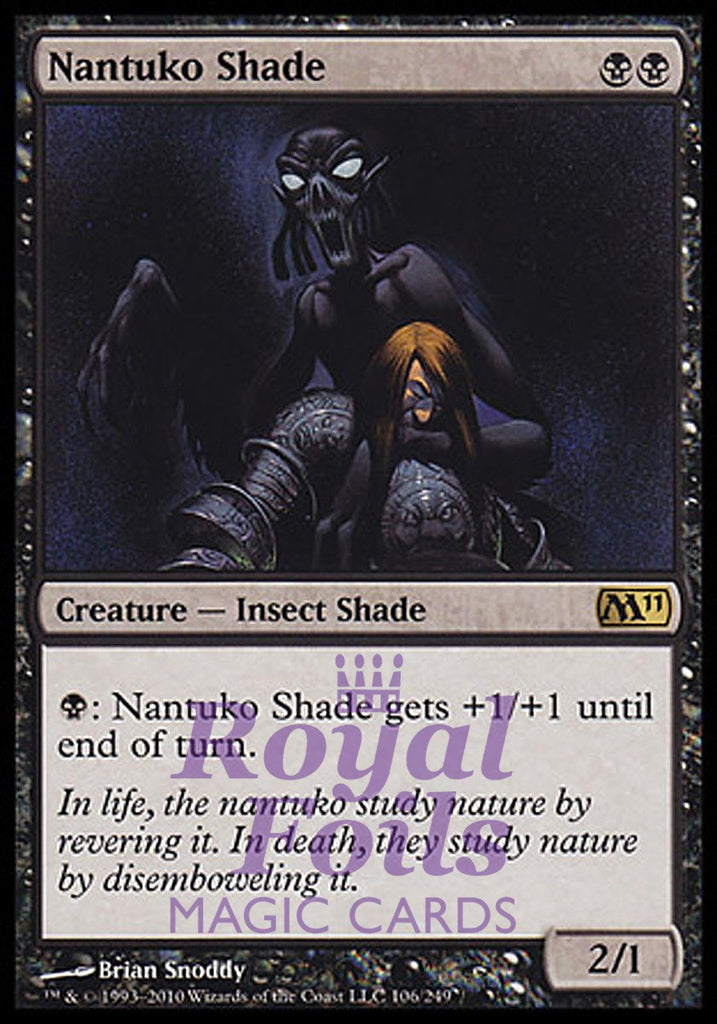 **1x FOIL Nantuko Shade** MTG M11 Core Set Rare MINT black