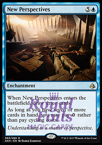 **1x FOIL New Perspectives** AKH MTG Amonkhet Rare MINT blue