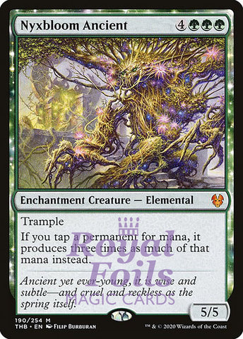 **1x FOIL Nyxbloom Ancient** THB MTG Theros Beyond Death Mythic MINT green