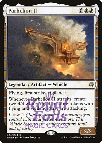 **1x FOIL Parhelion II** WAR MTG War of the Spark Rare MINT artifact white