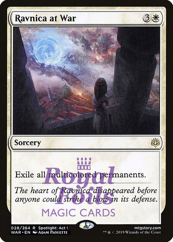 **1x FOIL Ravnica at War** WAR MTG War of the Spark Rare MINT white