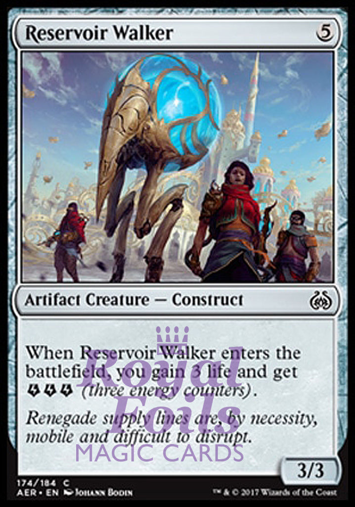 **4x FOIL Reservoir Walker** AER MTG Aether Revolt Common MINT artifact